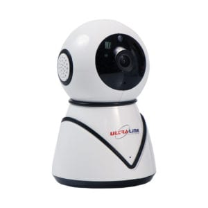 Ultra Link Smart IP Camera with A Pan Tilt & Zoom Function – White
