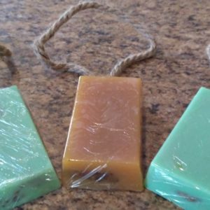 MEN: soap on a rope