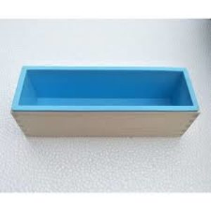 Silicone Lined Wooden Loaf Soap Mould